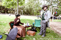 Steampunk Picnic Old Poway Park April 2014